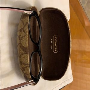 Coach Accessories - COPY - COACH FRAMES for reading glasses with case